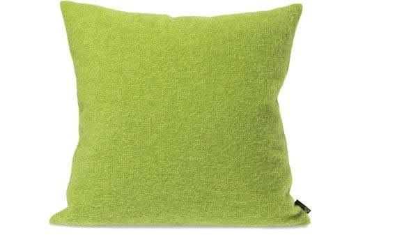 Kissen von Steiner Alina mit Füllung Limette/grün