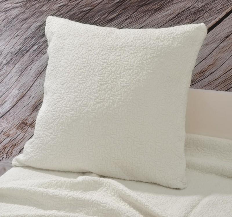 Kissen Estoril - Paisleymuster - weiß 45x45cm
