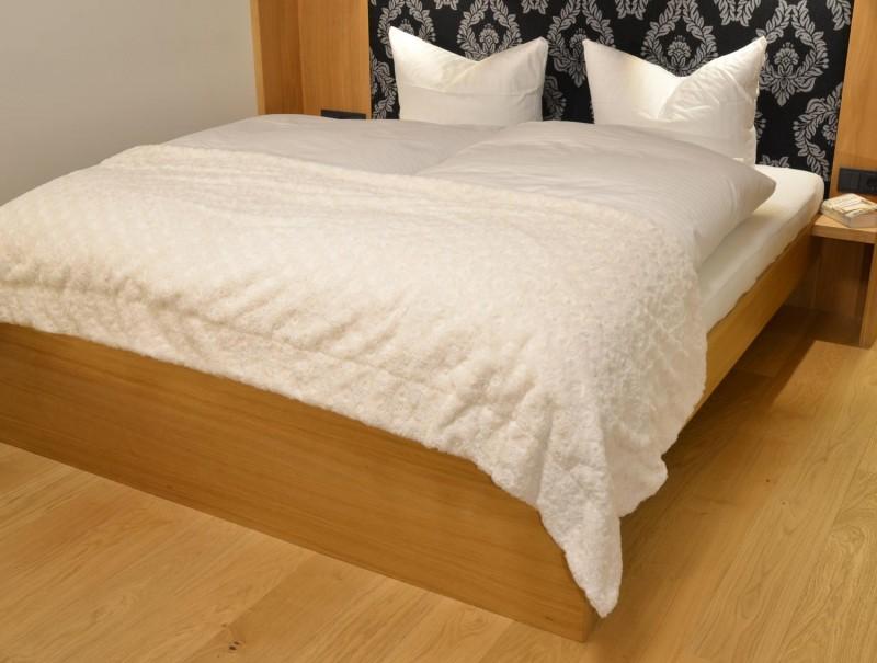 Fellbettschal (Webpelz) Bettschal Teddy creme-weiß 80x260cm