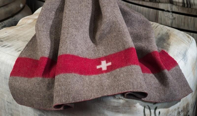 Schweizer Armeedecke von Eskimo - Eskitex, Wolldecke aus 90% Schurwolle und 10% Polyacryl