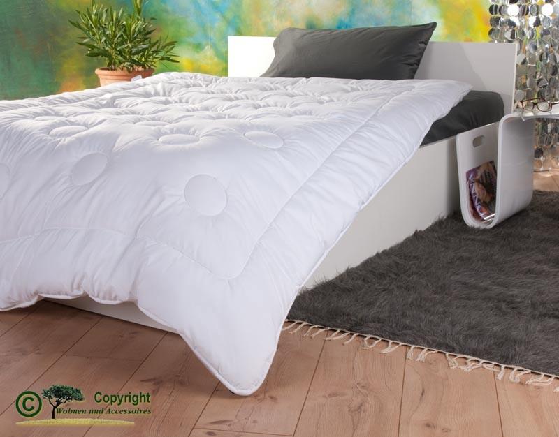 Duo-Stepp Bettdecke mit Füllung aus Kamelhaar und Satin-Gewebe mit Aloe Vera