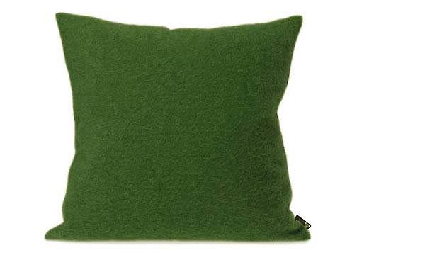 Kissen von Steiner Alina mit Füllung Kiwi/grün