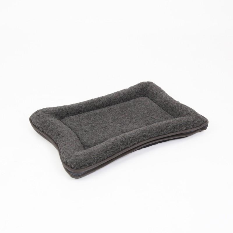Hochwertiges Hundebett, Hundedecke mit Oberfläche aus 100% Schurwolle incl. Inlett